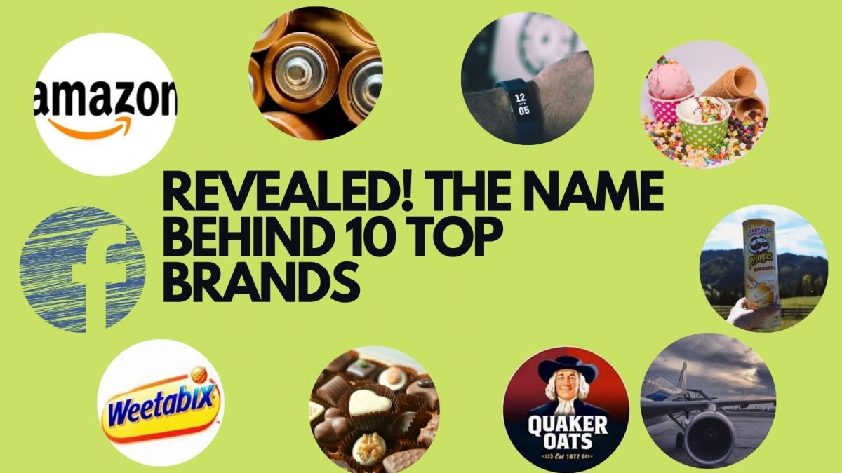 Revealed! The Names Behind Top 10 Brands